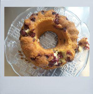 Kuchen mit Rahmen