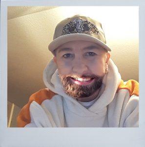 Bartdirector mit Rahmen